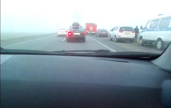 Фото с места ДТП на Мурманском шоссе. Фото vk.com