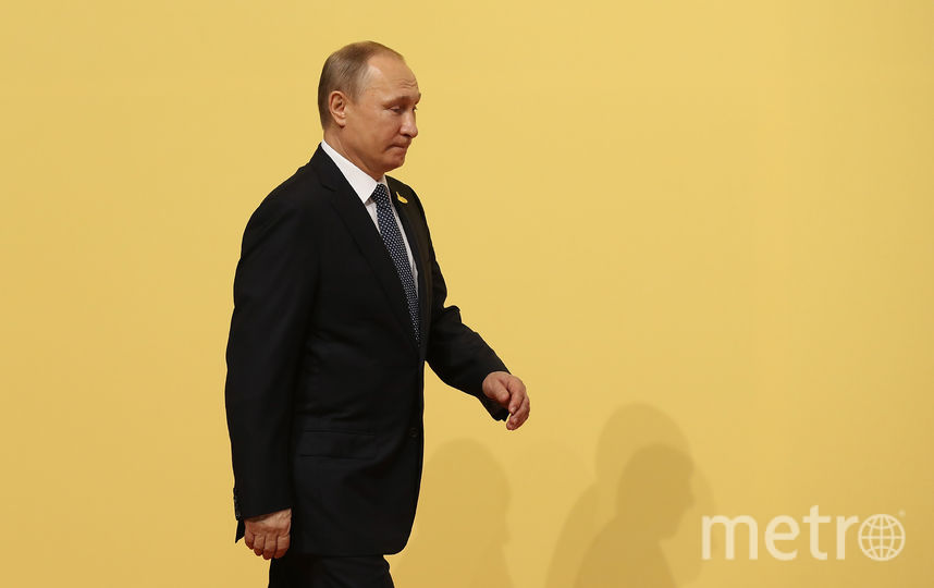 Владимир Путин на G20. Фото Getty