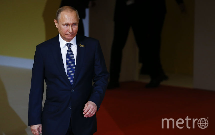 Путин. Фото Getty