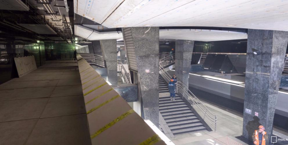 Москвичам устроят бесплатные экскурсии по строящимся станциям метро. Фото mos.ru
