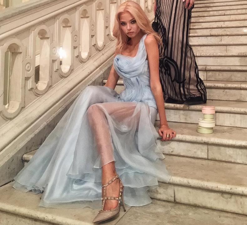 Алеся Кафельникова - фотоархив. Фото Все - скриншот Instagram
