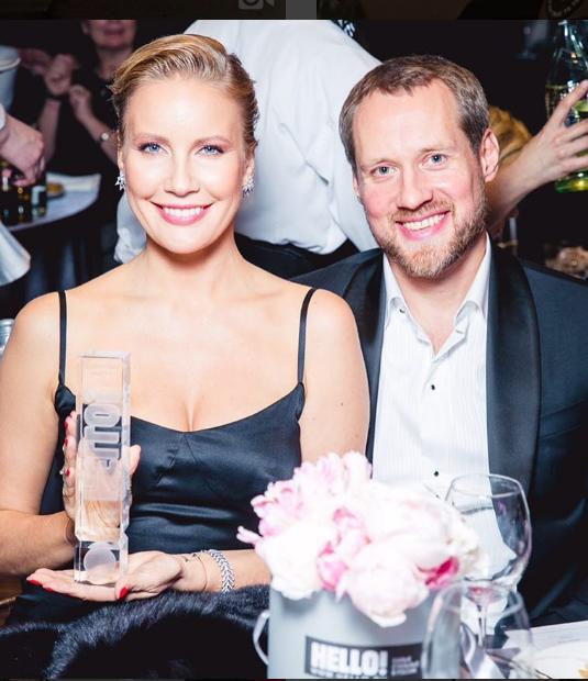 Елена Летучая с супругом. Фото instagram