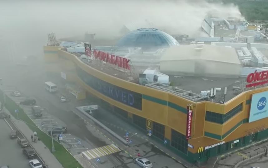 Состояние 3-х пострадавших впожаре вТРЦ Рио остается тяжелым