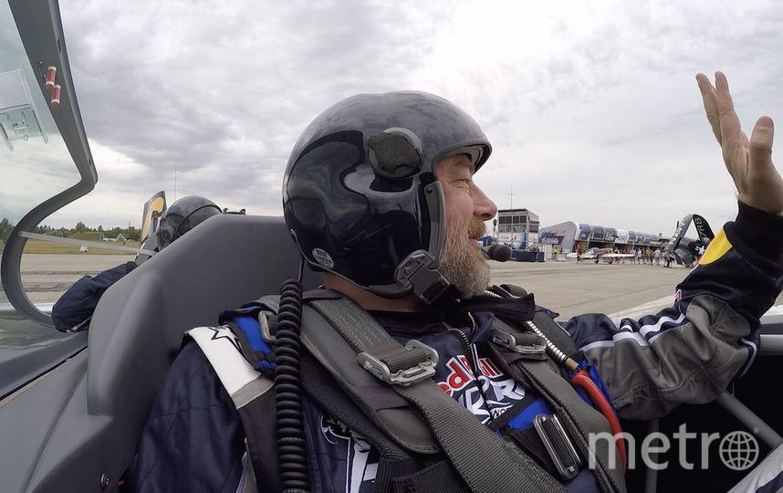 Корреспондент Metro Павел Киреев. Фото Red Bull content pool