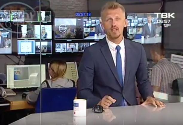Красноярский ведущий высмеял политиков в прямом эфире. Фото Скриншот Youtube.