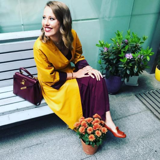 Ксения Собчак. Фото Instagram Ксении Собчак