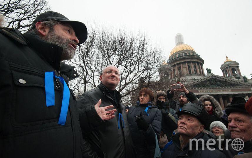 "Градозащитники обжаловали в суде отказ на референдум по Исаакию. Фото ""Metro"""