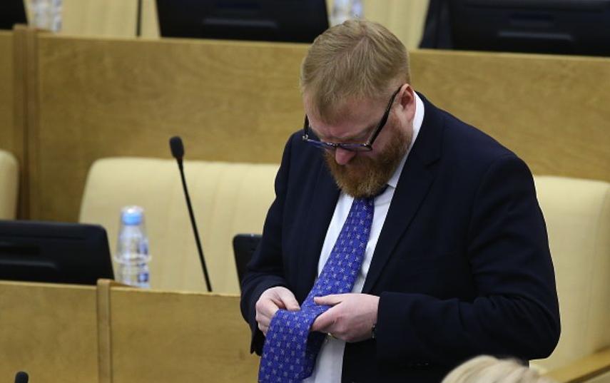 Вишневский: Милонову нужно быть духовным лицом. Фото Getty