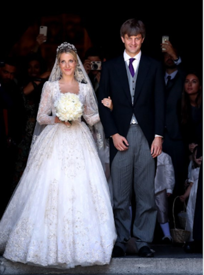 Фото со свадьбы. Фото AFP