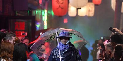 Raf Simons Spring/Summer. Фото AFP