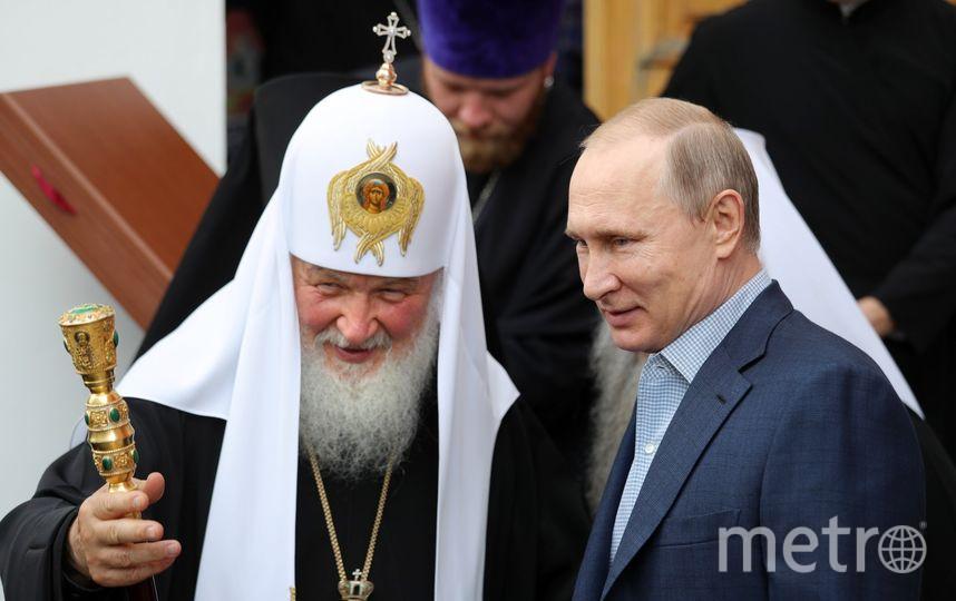 Путин на Валааме. Фото AFP