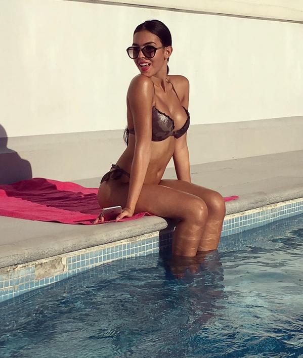 Джорджина Родригез, девушка Роналду - фотоархив.