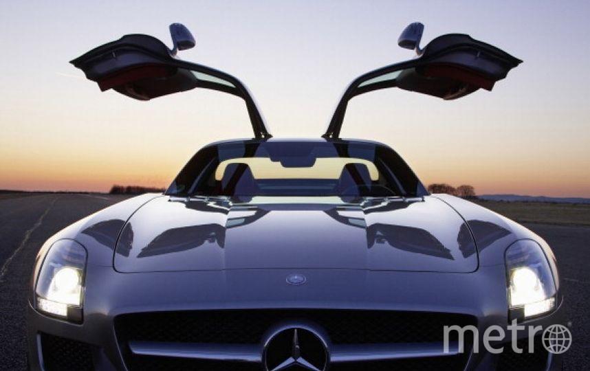 Mercedes AMG SLS. Фото Getty