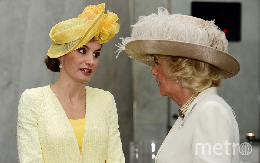 Королева Летиция и супруга Чарльза Камилла. Фото Getty