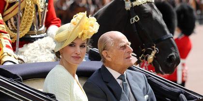 Супруг Елизаветы II и королева Летиция. Фото Getty