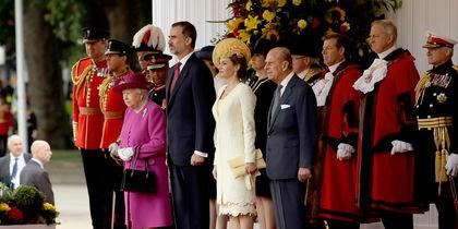Встреча короля и королевы Испании в Лондоне. Фото Getty