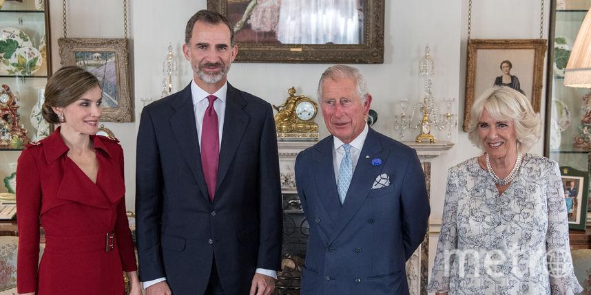 Король и королева Испании и принц Чарльз с супругой. Фото Getty