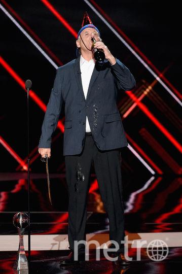Настоящее шоу устроил на сцене Билл Мюррей. Фото Getty