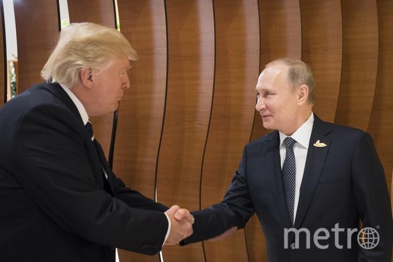 Дональд Трамп и Владимир Путин. Фото AFP