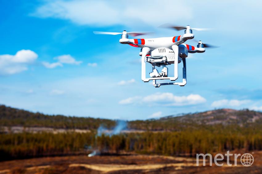 Увидеть недоступное с помощью дрона. Фото pressfoto