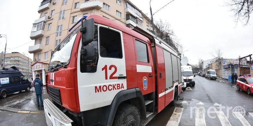 """Накануне в квартире дома в Малом Афанасьевском переулке произошёл пожар. Фото Василий Кузьмичёнок, """"Metro"""""""