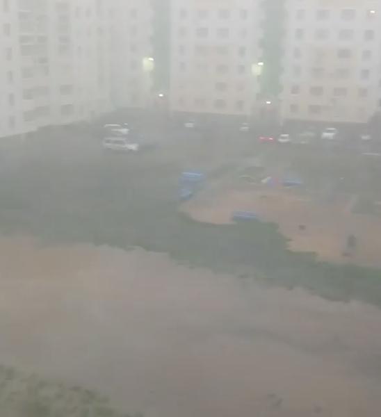 В Сети появились видео и фото после дождя в Воронеже. Фото instagram