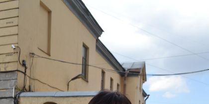 """Анна Жиганова, домохозяйка, приехала из Калининграда поддержать дочь. Фото Ольга Рябинина, """"Metro"""""""