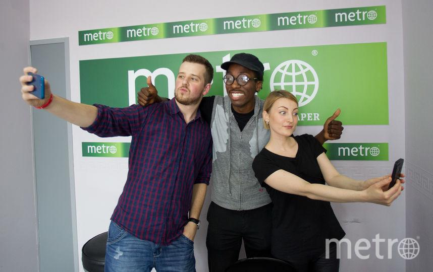 Чейз Винтерс в Metro. Фото Василий Кузьмичёнок