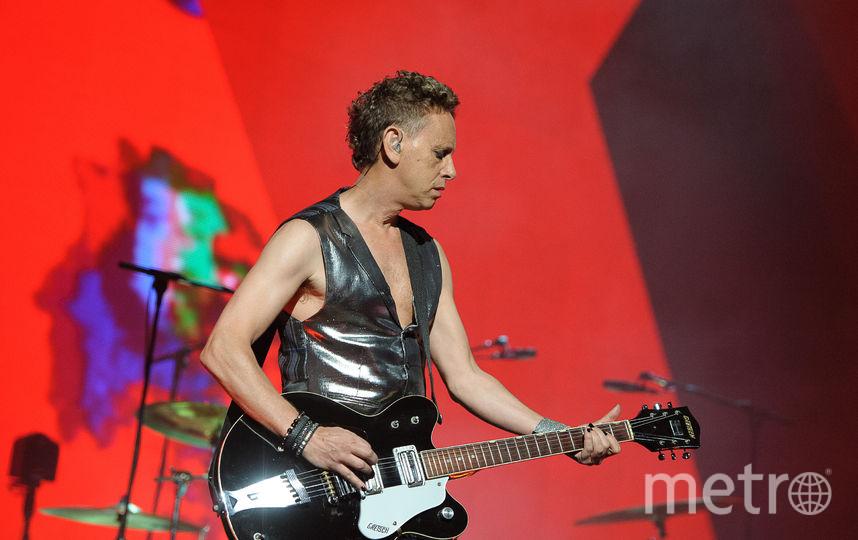Depeche mode встретили в Москве: Видео. Фото Getty