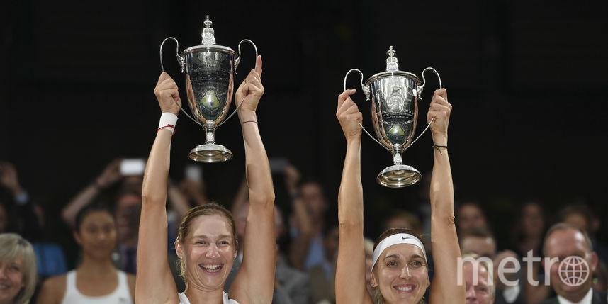 Уимблдонский финал. Фото AFP