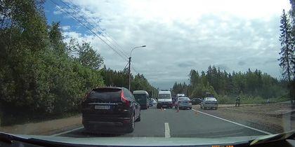 Смертельное ДТП в Петербурге: поездка с дачи закончилась трагически.