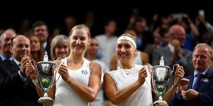 Екатерина Макарова и Елена Веснина (справа). Фото Getty