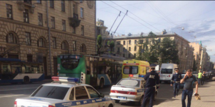 """ВАЗ """"всмятку"""" - ДТП в Петербурге собрало пять автомобилей. Фото все - vk.com/spb_today"""