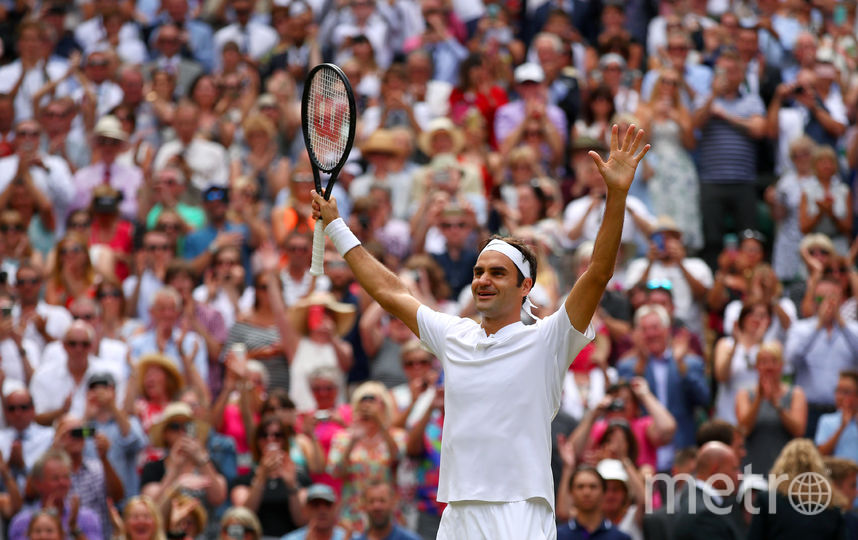 Швейцарский теннисист Роджер Федерер. Фото Getty