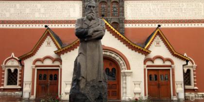 Третьяковская галерея впервые открыла внутренний двор. Фото mos.ru