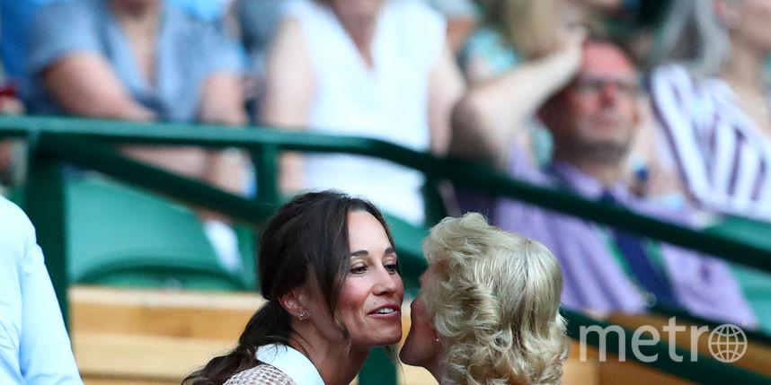 Пиппа Миддлтон на Уимблдонском турнире. Фото Getty