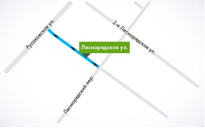 В центре Москвы ещё одна улица станет односторонней. Фото mos.ru