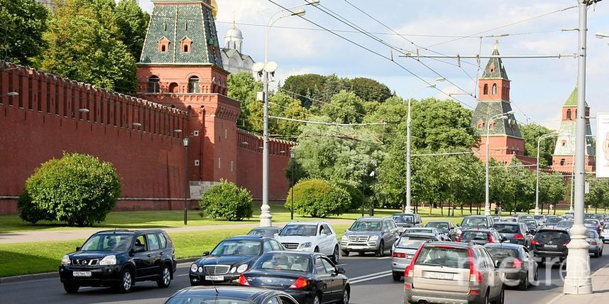 """В центре Москвы ещё одна улица станет односторонней. Фото Василий Кузьмичёнок, """"Metro"""""""