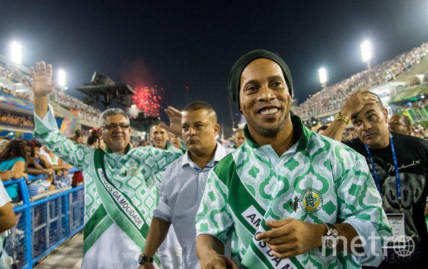Футболист Роналдиньо. Фото Getty