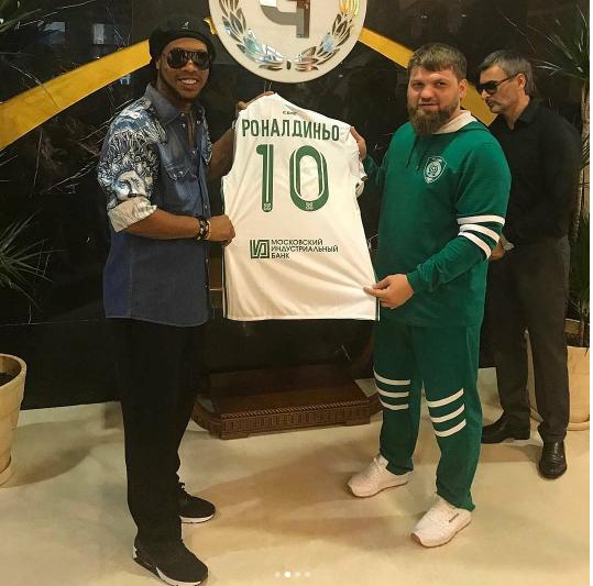 Роналдиньо. Фото www.instagram.com/ronaldinho