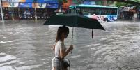На Китай надвигается тайфун Талас