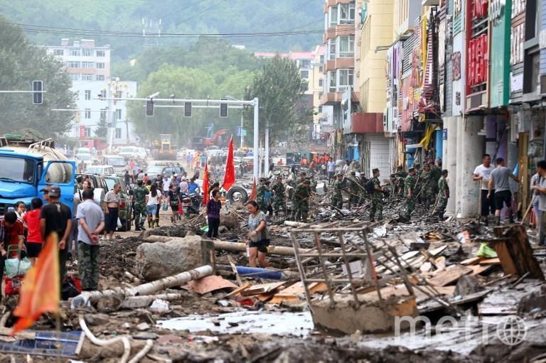 Тайфун в Китае. Фото AFP