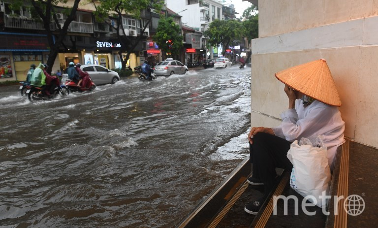 Тайфун во Вьетнаме. Фото AFP