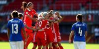 Женская сборная России по футболу стартовала с победы на Евро-2017