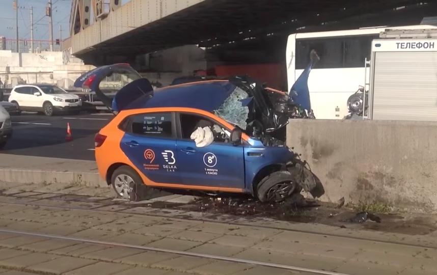 Видео смертельной аварии на Варшавском шоссе в Москве появилось в Сети. Фото Скриншот Youtube