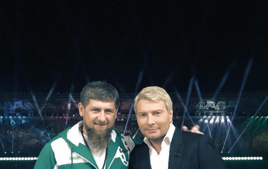 Рамзан Кадыров и Николай Басков. Фото Фото из Instagram.