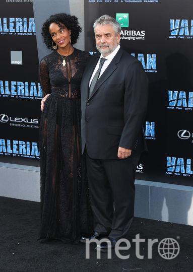 Люк Бессон и Вирджиния Силла. Фото Getty