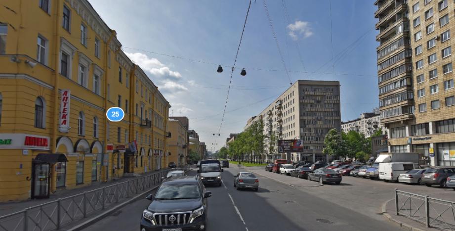 ВПетербурге ограничат движение наБольшеохтинском проспекте