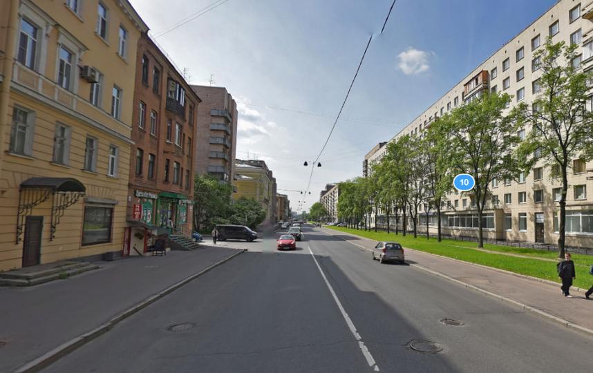 Большеохтинский проспект вПетербурге перекрывают участками доконца июля