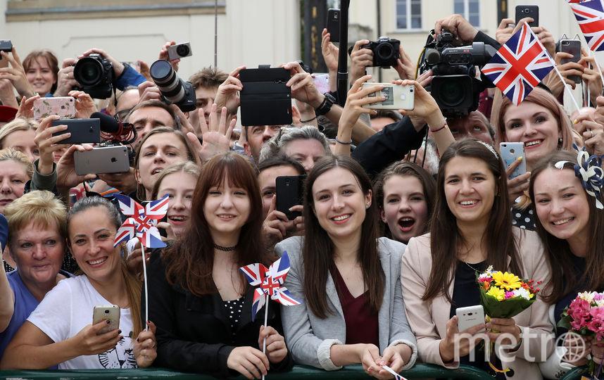 Визит в Варшаву. Фото Getty
